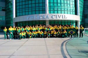Delegação da Polícia Civil do DF era composta por 99 atletas (Fotos: Arquivo Pessoal)