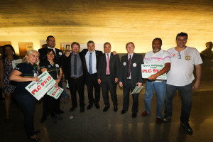 O deputado federal Laerte Bessa, mais uma vez, empenhou-se com a categoria e esteve na CCJ
