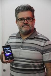 Cristofer é médico-legista na PCDF há 15 anos (Foto: Lucas Rodrigues/Sinpol-DF)