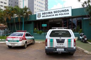 As primeiras visitam foram feitas nas 12ª e 17ª DPs, em Taguatinga (Fotos: Paulo Cabra/Sinpol-DF)